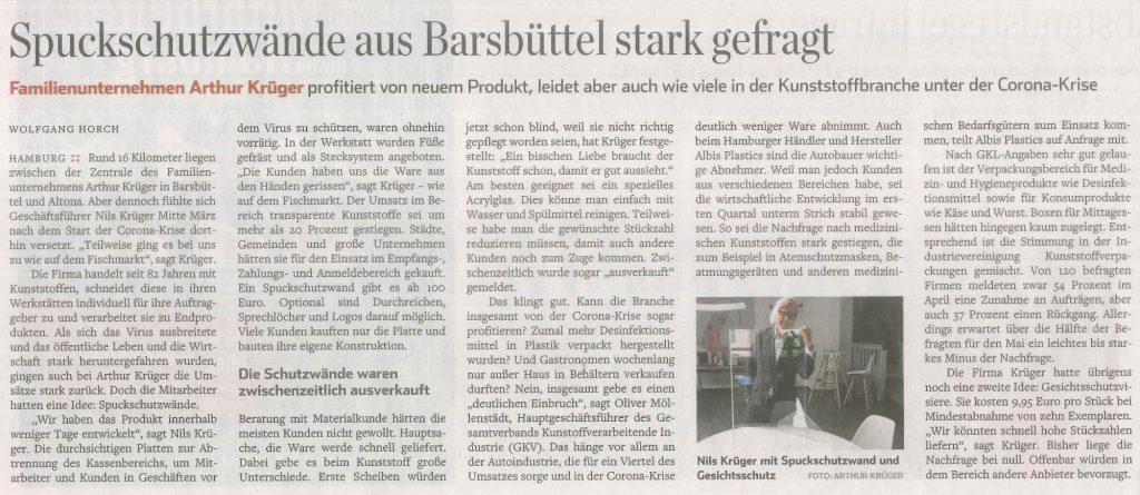 Abendblatt-Artikel-Schutzwände